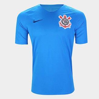 6ab6a5bcf524c Camisa Corinthians Treino 19 20 Nike Masculina