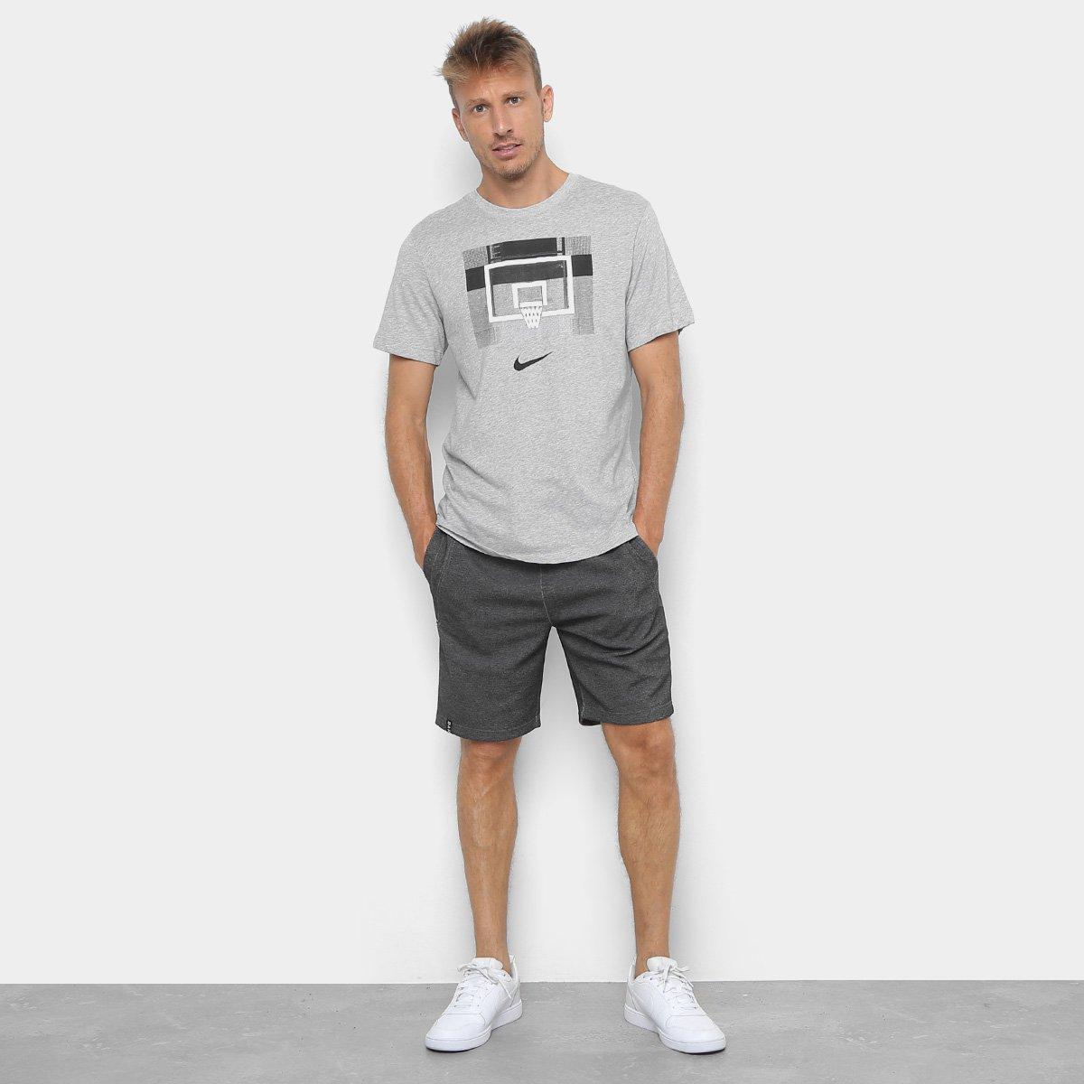 7f23588bea Camiseta Nike Dri-Fit Backboard Masculina - Tam: G - Shopping TudoAzul