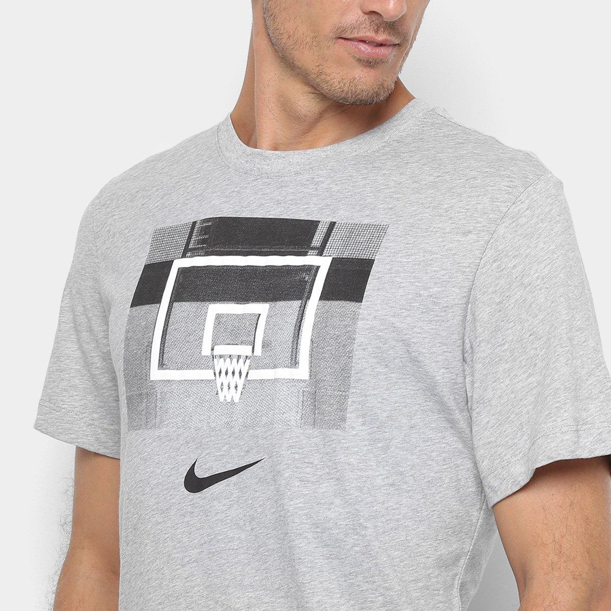 3c9770f2e8 Camiseta Nike Dri-Fit Backboard Masculina - Tam: M - Shopping TudoAzul