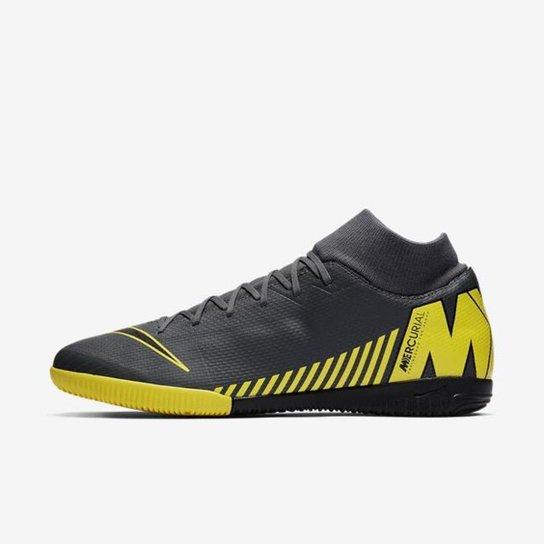 511dd061fc2 Chuteira Nike Mercurial Superfly VI Academy Futsal - Cinza - Compre ...