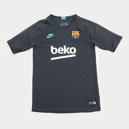 Camisa Barcelona Treino Infantil 19/20 Nike