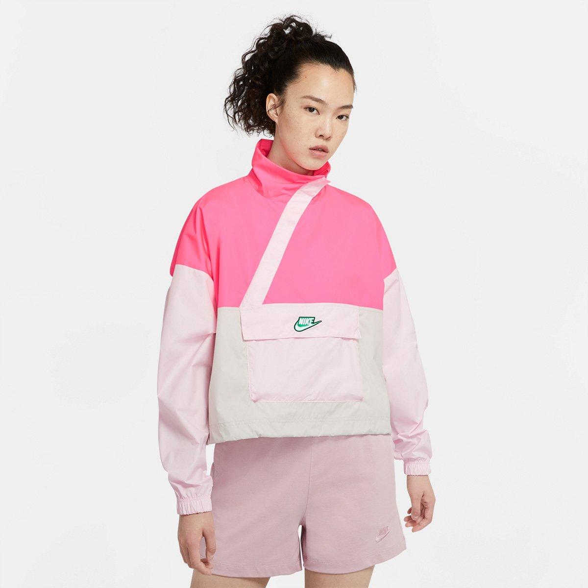 Jaqueta Nike Sportswear Icon Clash Anorak Feminina