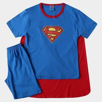 Pijama Lupo Superman Capa Infantil