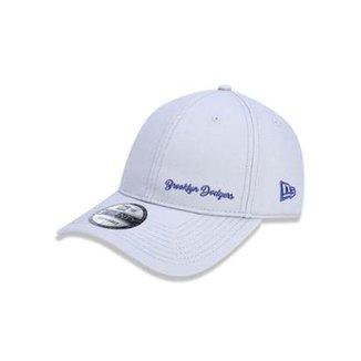 Boné 920 Brooklyn Dodgers MLB Aba Curva Strapback New Era dc706baacfb