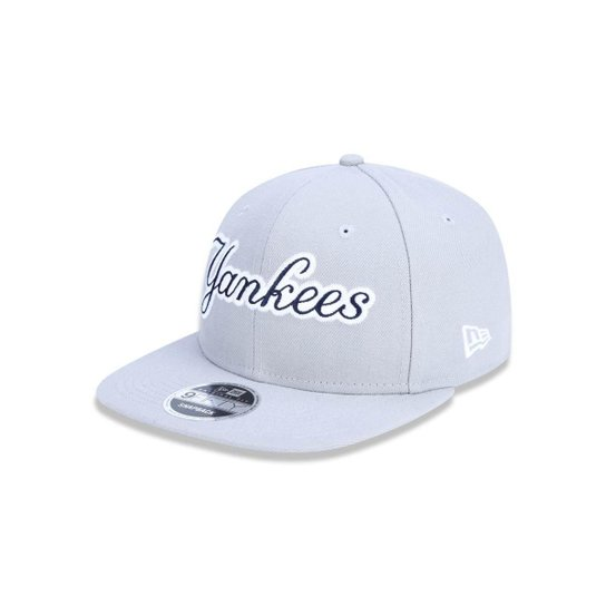 Boné 950 Original Fit New York Yankees MLB Aba Reta Snapback New Era - Cinza e67e5b40779