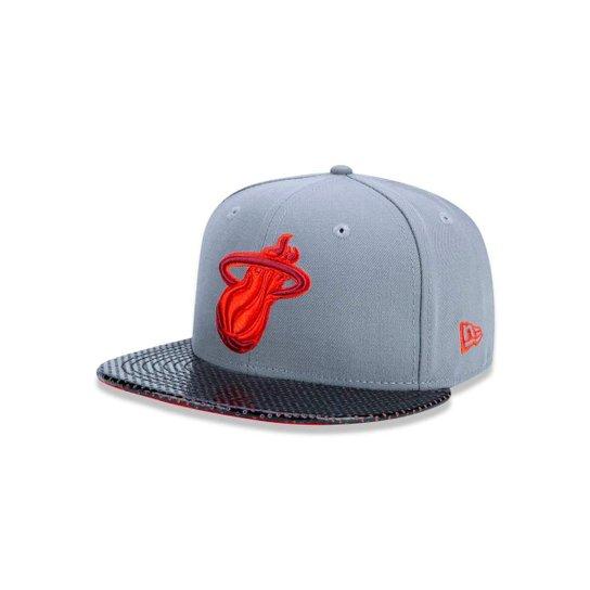 Boné 5950 Miami Heat NBA Aba Reta New Era - Compre Agora  7462f856355