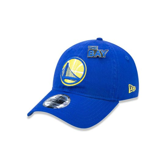 Boné 920 Golden State Warriors NBA Aba Curva Strapback New Era - Azul Royal e7857143bce