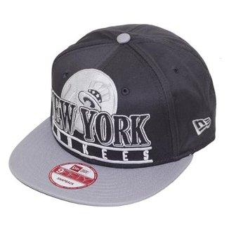 Boné New Era Aba Reta Snapback Mlb Ny Yankees Stack Punch cf1646b6788