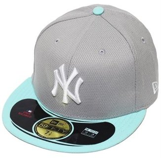 Boné New Era Aba Reta Fechado Mlb Ny Yankees Diamond Era Pop 4e1e31e574b