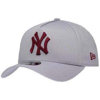 Boné New Era Aba Curva Sn Mlb Ny Yankees Af Gra e0c999662b7