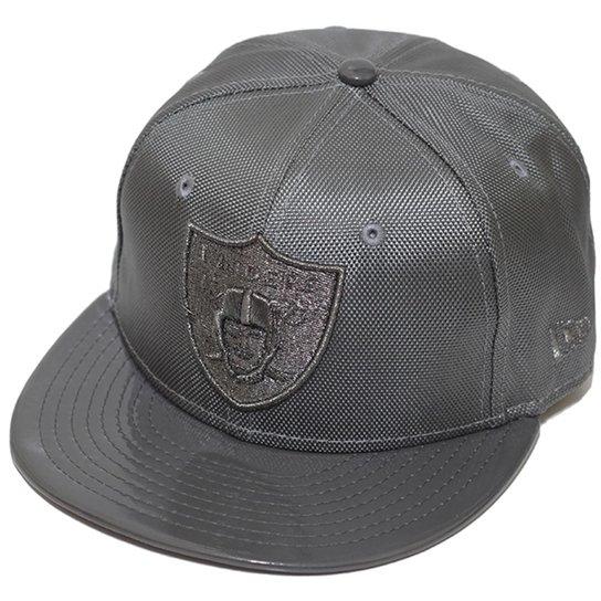 080c48d683 Boné New Era Aba Reta Fechado Nfl Raiders Ballistic - Cinza   Netshoes