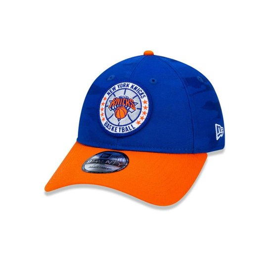 1fd670c8a06 Boné 920 New York Knicks NBA Aba Curva New Era - Azul Royal - Compre ...