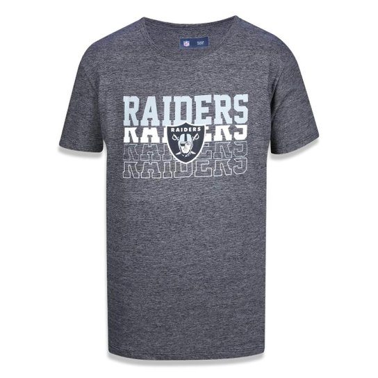6332c7b7d58f8 Camiseta Oakland Raiders NFL New Era Masculina - Compre Agora