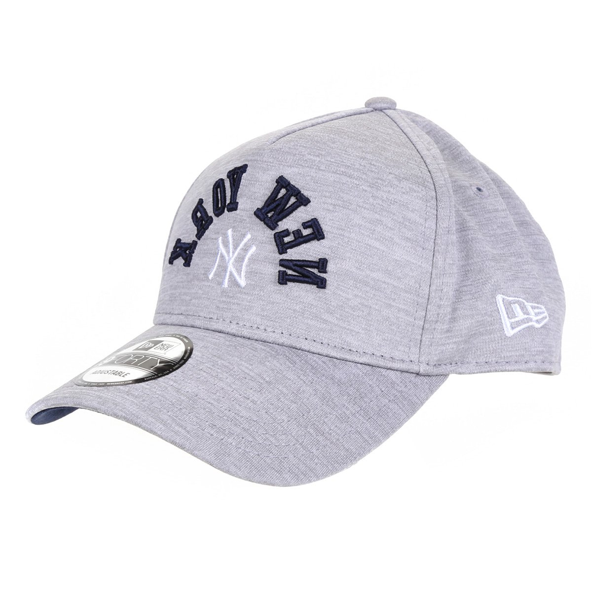 Boné New Era MLB New York Yankees Aba Curva Snapback 940 Fresh College