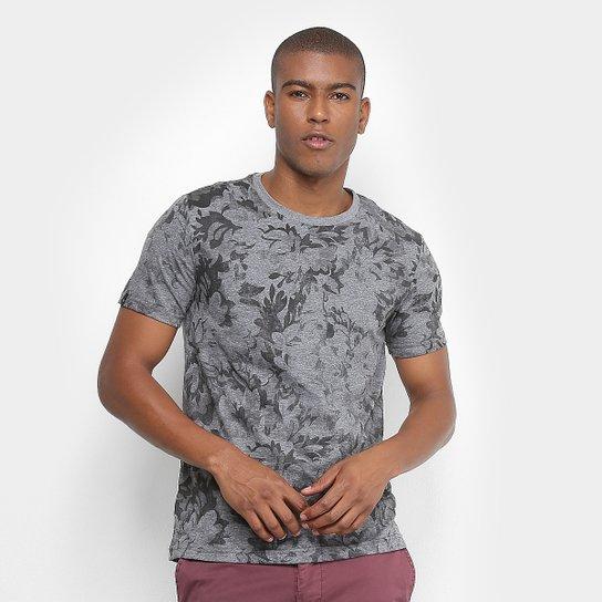 Camiseta All Free Estampada Folhagem Manga Curta Masculina - Compre ... e9de3309e99