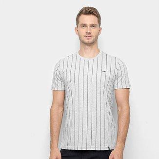 5a982c026b Camiseta All Free Listras Verticais Masculina