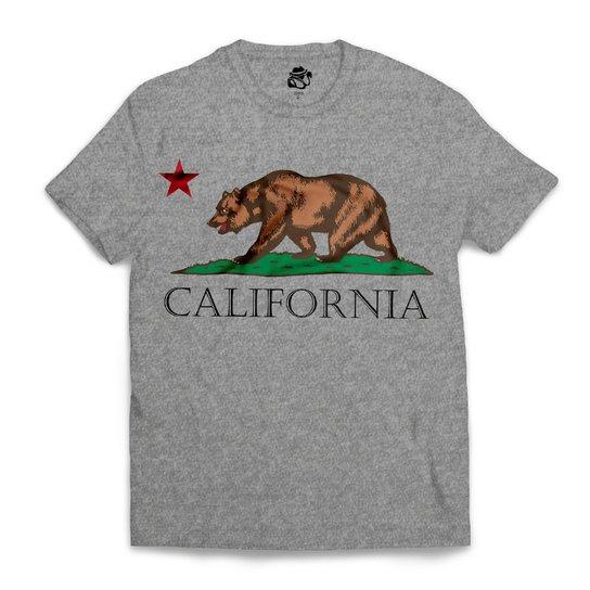 Camiseta BSC California - Cinza - Compre Agora  cb6cfcec6fb