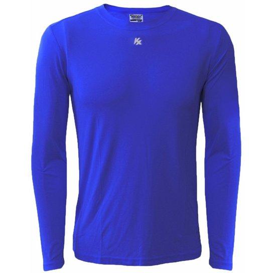 Camisa Térmica Infantil Proteção Solar - Azul Royal - Compre Agora ... bbf1765e37f5e