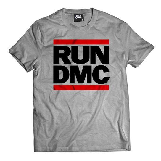 1b08204187333 Camiseta Skull Clothing Run Dmc Masculina - Cinza - Compre Agora ...