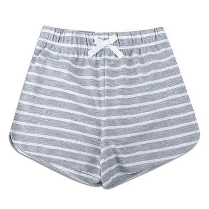 Shorts Infantil GAP Listrado Feminino