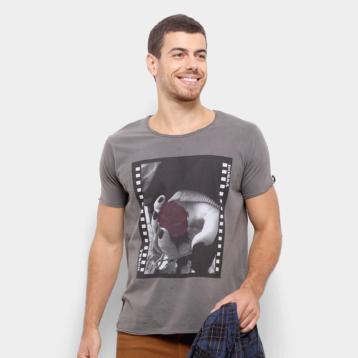 a9bfdff61 Camiseta Bossa Brasil Rosa Masculina