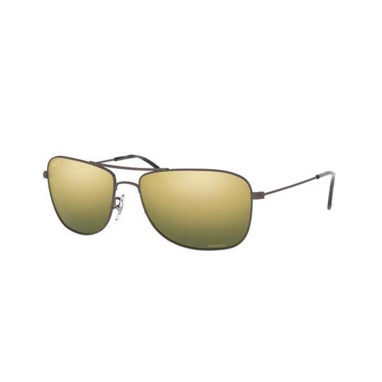 a09cc2b5c Óculos de Sol Ray-Ban RB3543 Coleção Chromance - Cinza | Netshoes