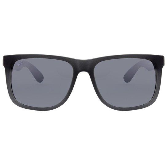 d93266c309f3c Óculos de Sol Ray-Ban Justin RB4165L -622 71 57 - Cinza - Compre ...