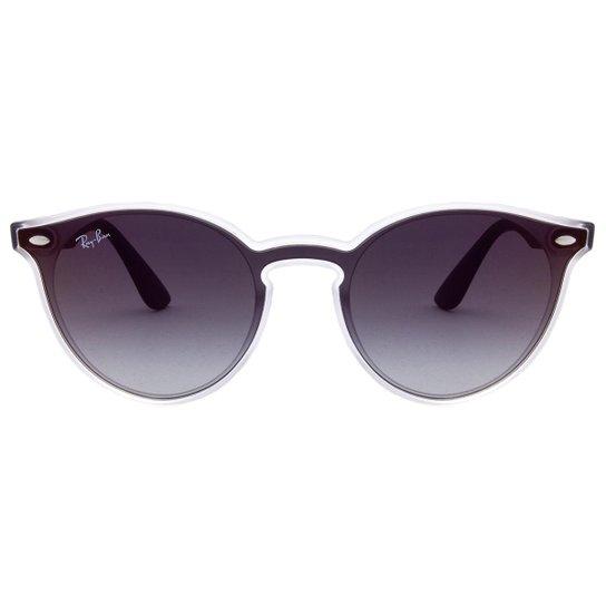 a6d1666a89d14 Óculos de Sol Ray-Ban Blaze Round RB4380N -6356-X0 37 - Compre Agora ...