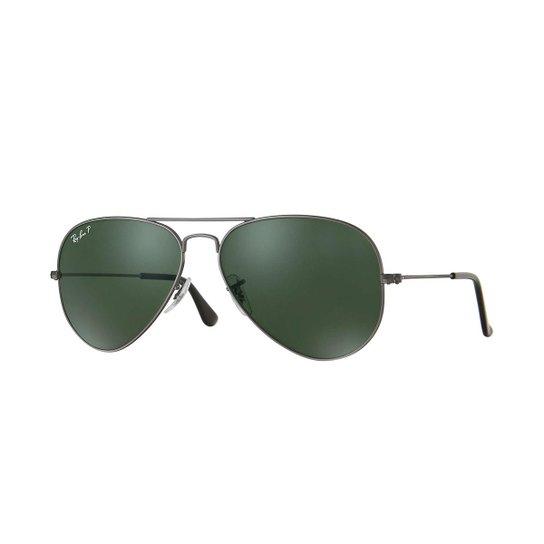 d007e9489 Óculos de Sol Ray-Ban Aviator Rb3025 Masculino - Cinza | Netshoes
