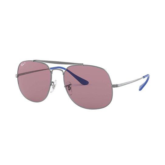 Óculos de Sol Ray-Ban RB3561 Feminino - Cinza - Compre Agora   Netshoes 0a5500d472
