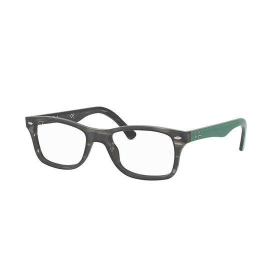 04fe858945b8e Armação de Óculos Ray-Ban RB5228 Feminina - Cinza - Compre Agora ...