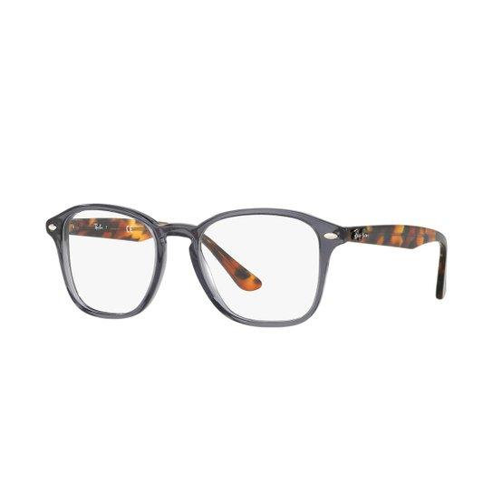 e7f5a2b8b Armação de Óculos Ray-Ban Masculino - Cinza | Netshoes