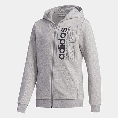 Blusa Infantil Adidas Yg Bb Fz Feminina