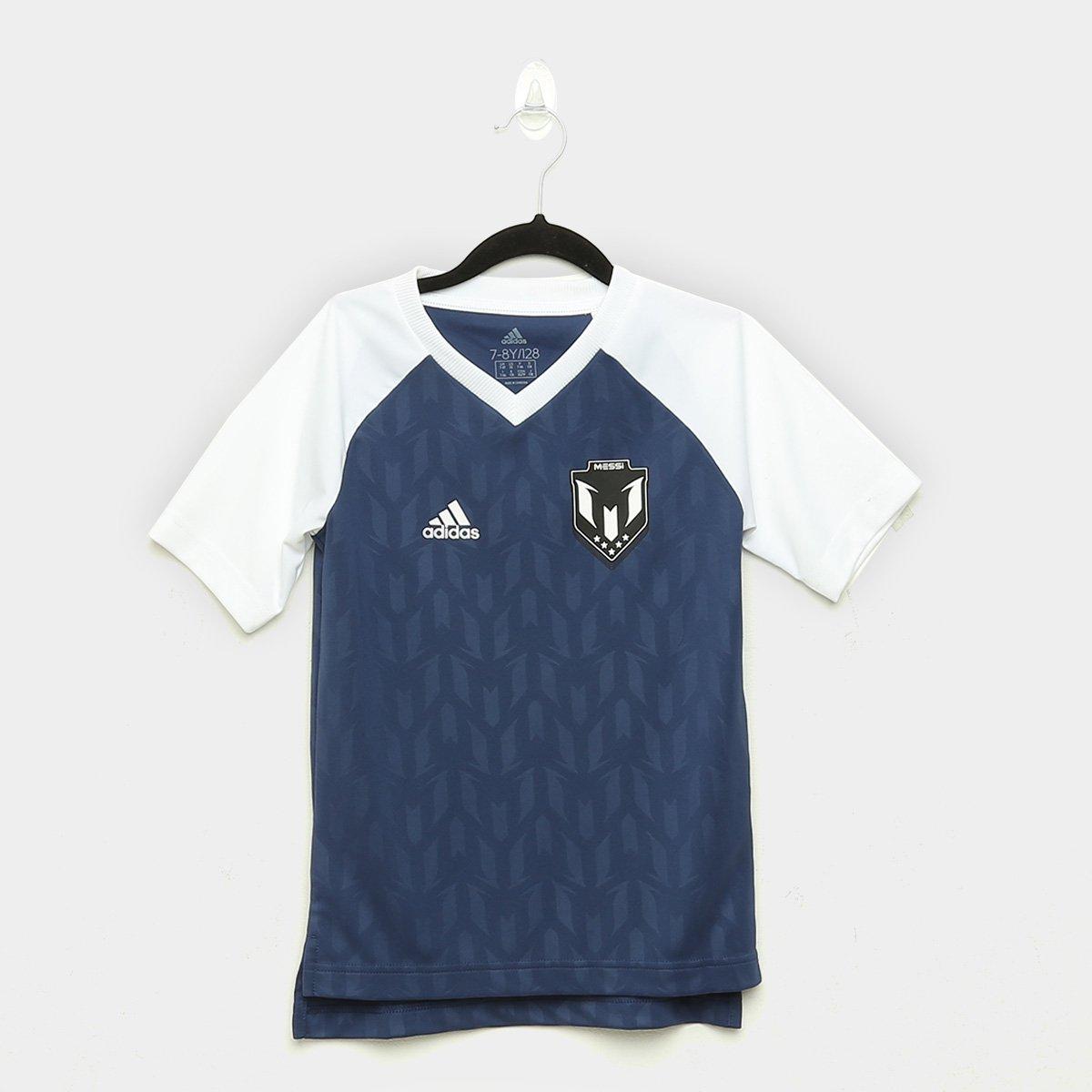 Camisa Infantil Adidas Jb M Icon Jsy Masculina