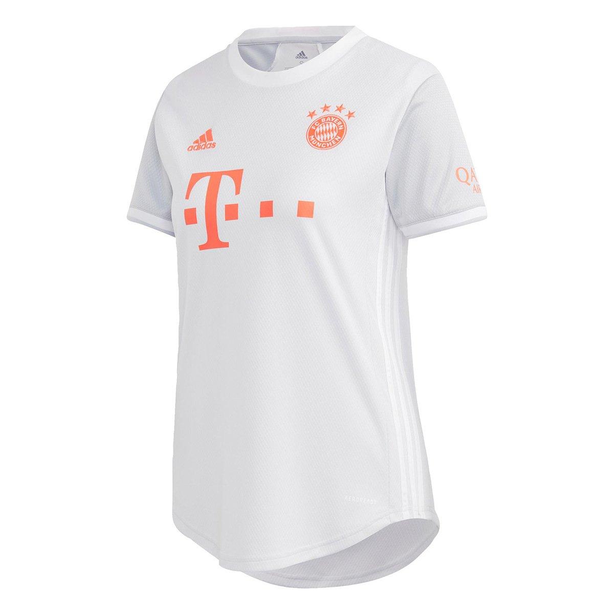 Camisa Bayern de Munique Away 20/21 s/n° Torcedor Adidas Feminina