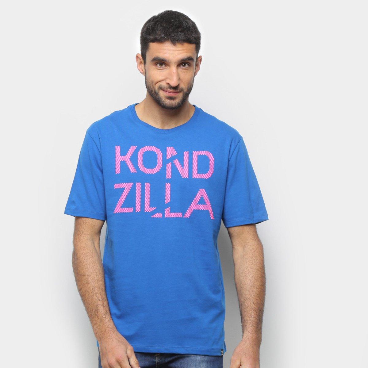 Camiseta Kondzilla Foguete Não Tem Ré Masculina