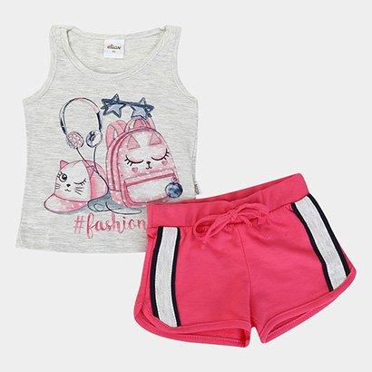 Conjunto Infantil Elian Fashion Feminino