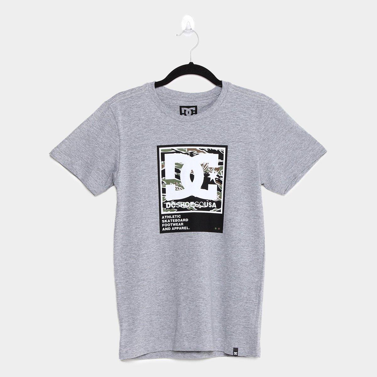 Camiseta Juvenil DC Shoes Arakana Teen Masculina