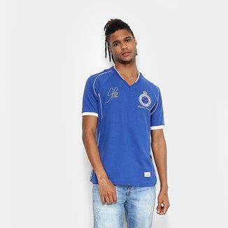 df5a32f3c4 Camiseta Cruzeiro Retrô Mania 2003 Tríplice Coroa Masculina
