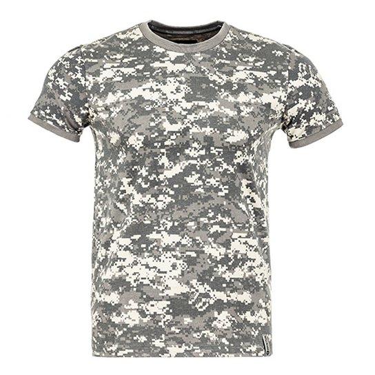 Camiseta Militar Tech Camuflada Digital Deserto - Compre Agora ... 15e38089321
