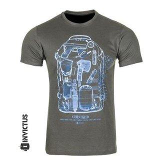 Camiseta T-shirts Concept Raio X Mochila Invictus 8343cb0743e22