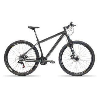 7444f5031cf47 Bicicleta Aro 29 First Smitt 24 Velocidades Cambio Shimano Freio a Disco  Hidráulico Suspensão
