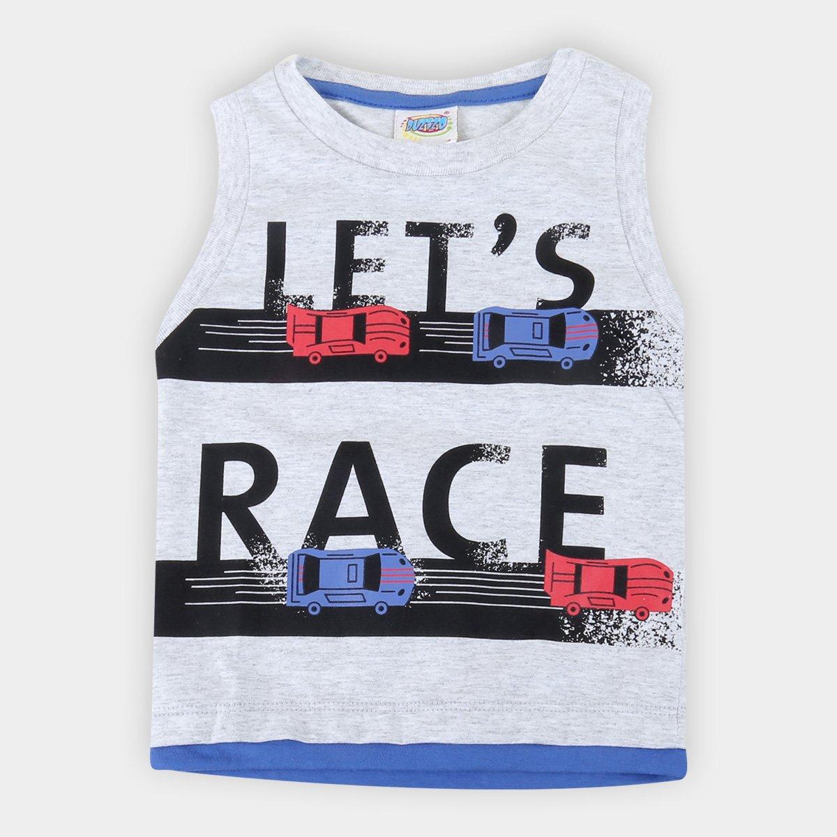 Regata Bebê Duzizo Let's Race Masculino