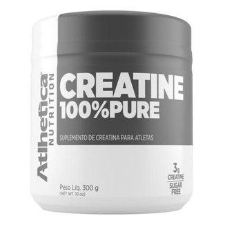 100% Creatina 300g - Atlhetica