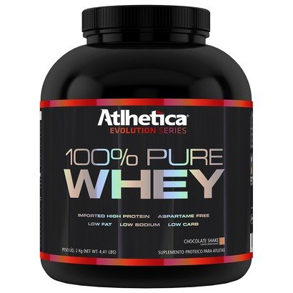 100% Pure Whey 2 Kg - Atlhetica Nutrition