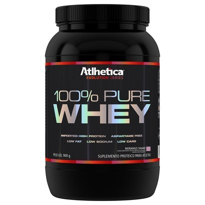 100% Pure Whey 900 g – Atlhetica Nutrition