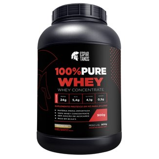 100% Pure Whey Protein Espartanos - 900G