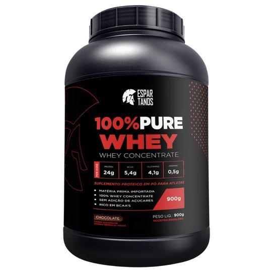 100% Pure Whey Protein Espartanos - 900G -