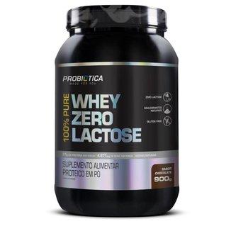 100% Pure Whey Zero Lactose 900g Probiótica