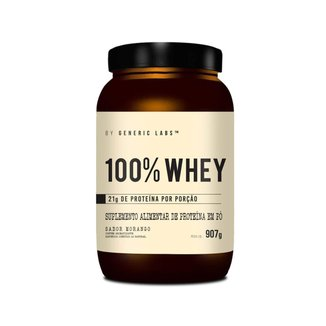 100% Whey (907G) - Generic Labs